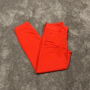 J Crew Andie Ankle Chino's
